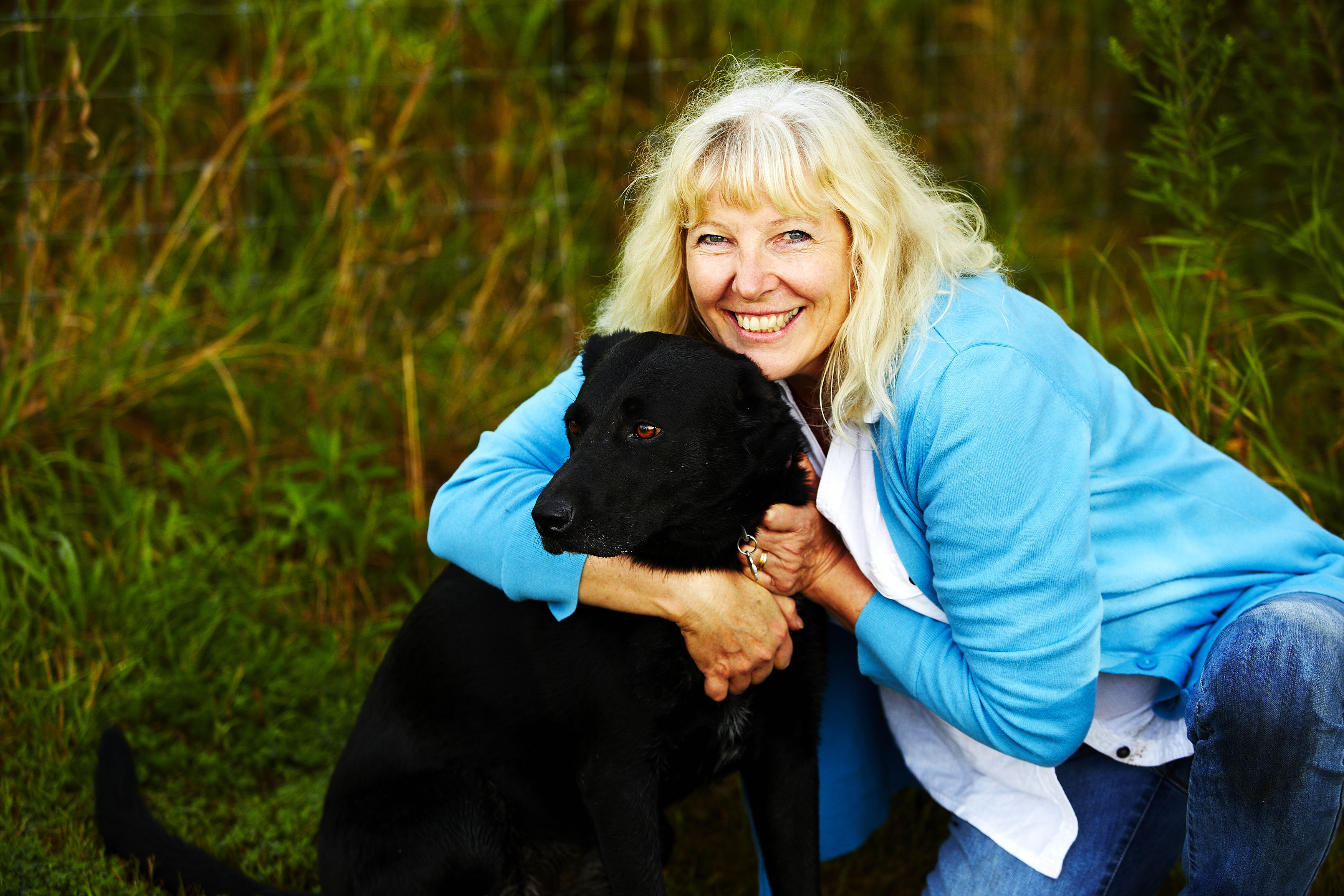 Jan Dunlap and Gracie
