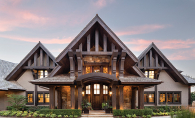 A home designed and built by John Kraemer & Sons.