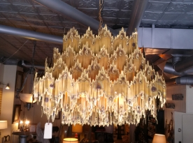 Lighting fixture from Yellow Brick Trading Company in Chaska.