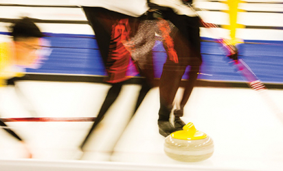 Curling Night in America at the Chaska Curling Center