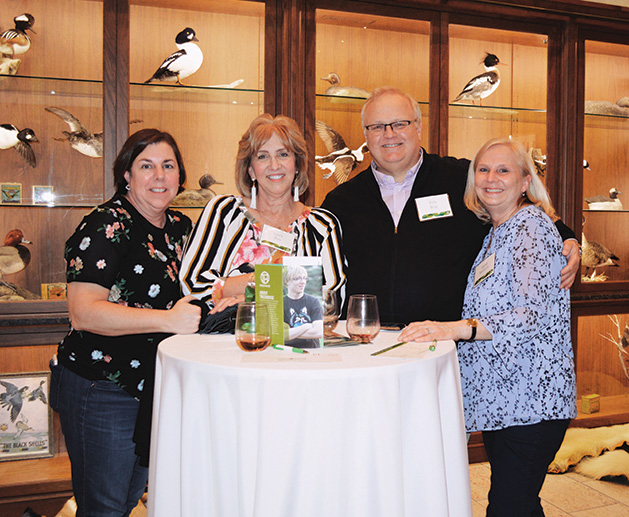 7 Julie Oberle, Laura and Rich Bray and Joanie Koebnick at the TreeHouse fundraiser