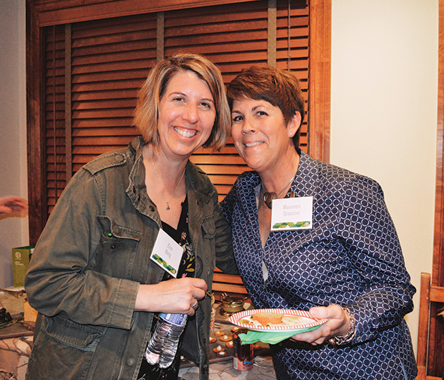 Erin Berg and TreeHouse fundraiser co-host Maureen Grazzini