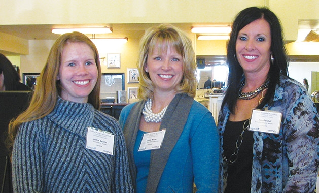 Jackie Coulter, Sheila Bauer and Jennifer Boll