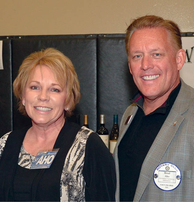 Beverly and Brad Aho