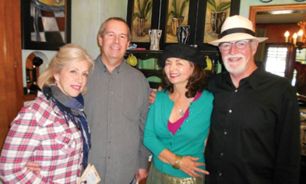 Suzie and Ross Severson, Jane Ask Bodahl and Lawrance Bodahl