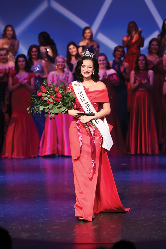 Kathryn Kueppers at Miss Minnesota 2019