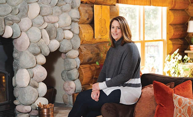 Kristin Campbell, owner of Organized Homes & Staging by Kristin