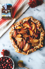 pear cranberry spiced galette southwest metro magazine