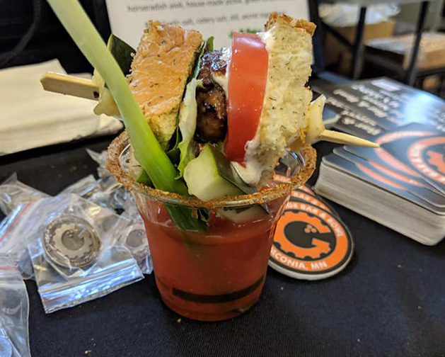 The Garage bloody mary