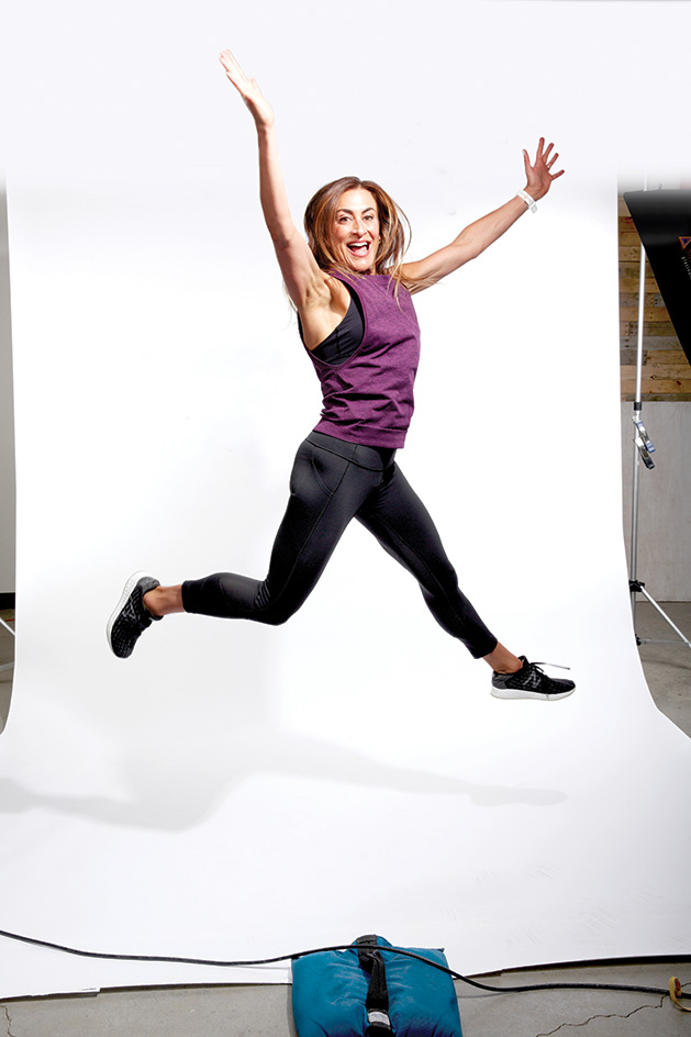 Laurel Famigletti, the new fitness columnist for Southwest Metro Magazine